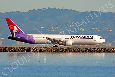 B767 00279 Boeing 767 Hawaiian N584HA by Peter J Mancus