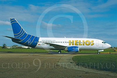 B737 00063 Boeing 737 Helios D-ADBO April 2004 via African Aviation Slide Service
