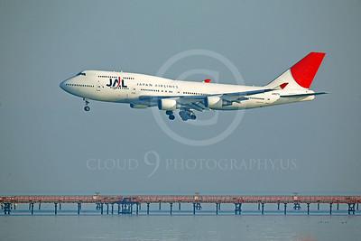 B747 00078 Boeing 747 Japan Air Lines JA8074 by Peter J Mancus