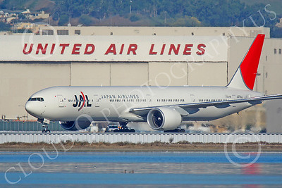 B777 00351 Boeing 777 JAL Japan Airlines JA739J by Peter J Mancus