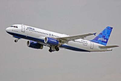 A320 00266 Airbus A320 JetBlue N5607JB by Peter J Mancus