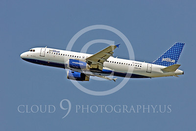 A320 00122 Airbus A320 JetBlue N520JB by Peter J Mancus
