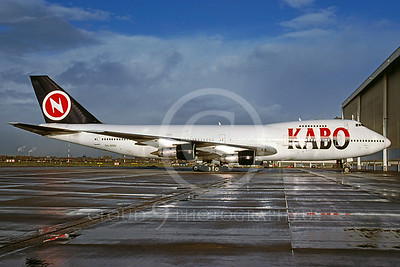 B747 00199 Boeing 747 Kabo Airline 5N-NNN November 2001 via African Aviation Slide Service