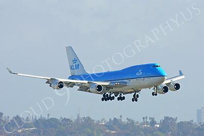 B747 00074 Boeing 747-400 KLM by Peter J Mancus