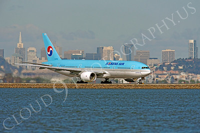 B777 00013 Boeing 777 Korean Air HL7752 by Peter J Mancus