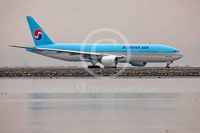 B777 00231 Boeing 777 Korean Air HL7734 by Peter J Mancus