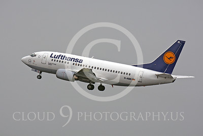 B737P 00200 Boeing 737-500 Lufthansa D-ABIR by Peter J Mancus