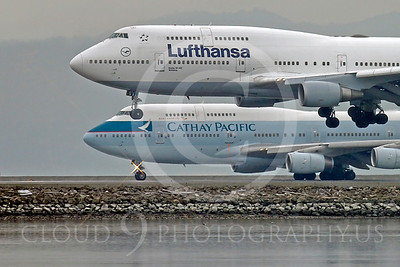 CUNALPJ 00016 Boeing 747 Lufthansa D-ABVW by Peter J Mancus