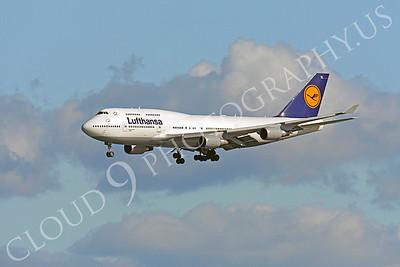 B747 00610 Boeing 747 Lufthansa by Peter J Mancus