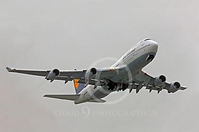 B747 00242 Boeing 747 Lufthansa D-ABVW by Peter J Mancus