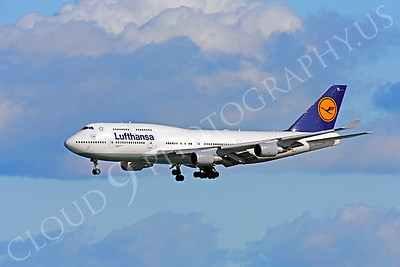 B747 00572 Boeing 747 Lufthansa by Peter J Mancus