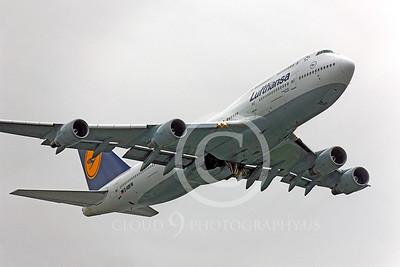 B747 00118 Boeing 747 Lufthansa D-ABVW by Peter J Mancus
