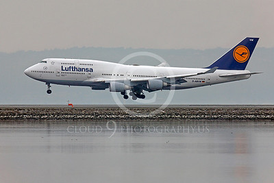 B747 00408 Boeing 747 Lufthansa D-ABVW by Peter J Mancus