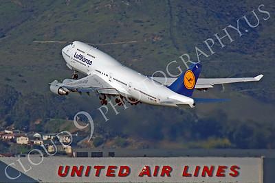 B747 01144 Boeing 747 Lufthansa D-ABTL by Peter J Mancus