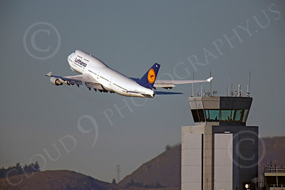 B747 00224 Boeing 747 Lufthansa D-ABTC by Peter J Mancus