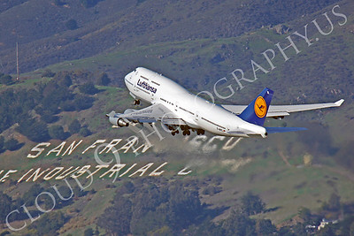 B747 01128 Boeing 747 Lufthansa D-ABTL by Peter J Mancus
