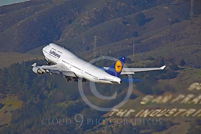 B747 00452 Boeing 747 Lufthansa D-ABTC by Peter J Mancus