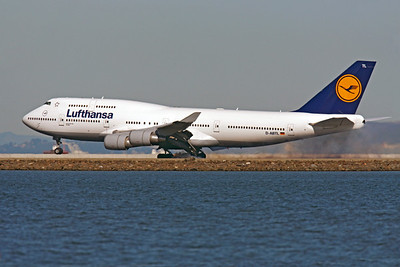 B747 00610 Boeing 747 Lufthansa D-ABTL by Peter J Mancus