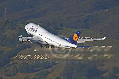 B747 00106 Boeing 747 Lufthansa D-ABTC by Peter J Mancus