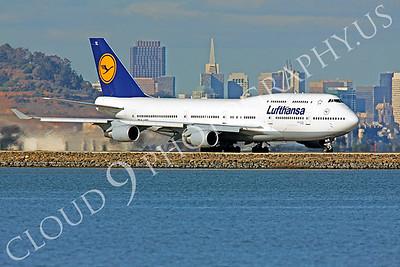 B747 01205 Boeing 747-400 Lufthansa by Peter J Mancus