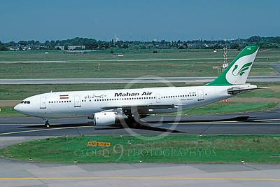 A300 00011 Airbus A300 Mahan Air EP-MHE June 2002 via African Aviation Slide Service