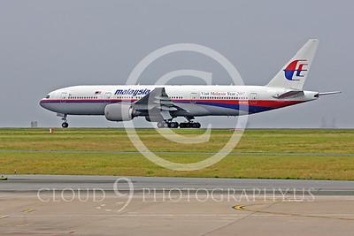 B777 00041 Boeing 777 Malaysia 9M-MRO by Peter J Mancus