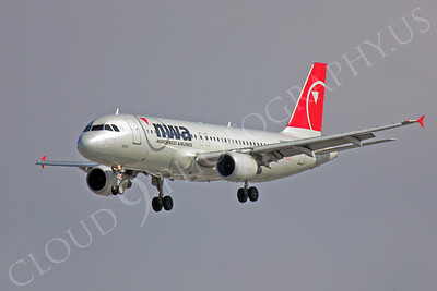 A320 00124 Airbus A320 Northwest Airline by Peter J Mancus