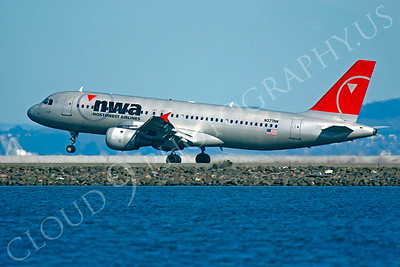 A320 00117 Airbus A320 Northwest N377NW by Peter J Mancus