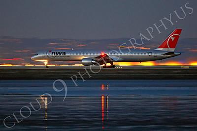 B757 00301 Boeing 757 Northwest N590NW by Peter J Mancus