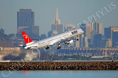 B757 00366 Boeing 757 Northwest N592NW by Peter J Mancus