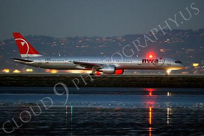 B757 00365 Boeing 757 Northwest N590NW by Peter J Mancus