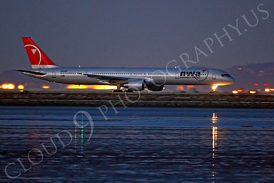 B757 00117 Boeing 757 Northwest N590NW by Peter J Mancus