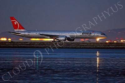 B757 00117 Boeing 757 Northwest N590NW by Peter J Mancus