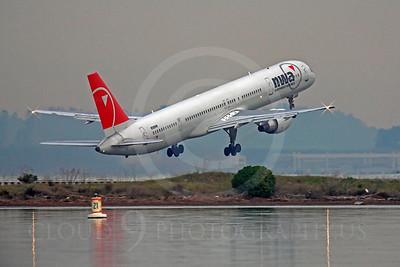 B757 00352 Boeing 757 Northwest N588NW by Peter J Mancus