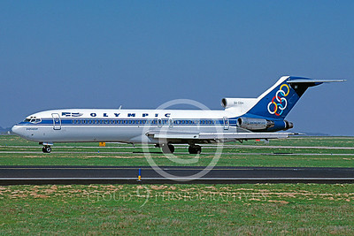 B727 00025 Boeing 727 Olympic SX-CBH 31 March 1997 by Peter J Mancus