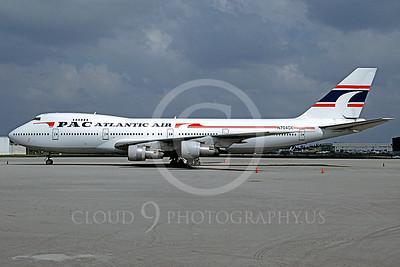 B747 00039 Boeing 747 PAC Atlantic Air N704CK March 1994 by Peter J Mancus