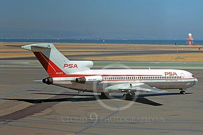 B727 00027 Boeing 727 PSA N540PS by William T Larkins