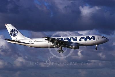 A300 00012 Airbus A300 Pan Am N861PA July 1997 by Peter J Mancus