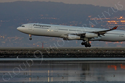 A340 00200 Airbus A340 Philippines RP-C3431 by Peter J Mancus