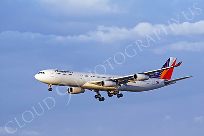 A340 00100 Airbus A340 Philippine Airline F-OHPL LAX by Peter J Mancus