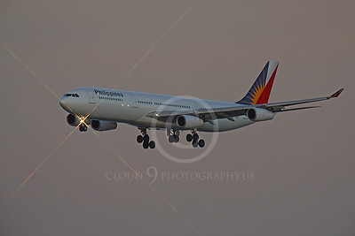 A340 00148 Airbus A340 Philippines RP-C3431 by Peter J Mancus