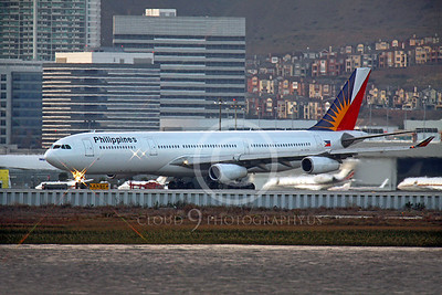 A340 00093 Airbus A340 Philippines RP-C3431 by Peter J Mancus