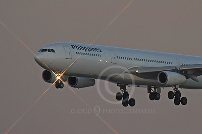 A340 00178 Airbus A340 Philippines RP-C3431 by Peter J Mancus
