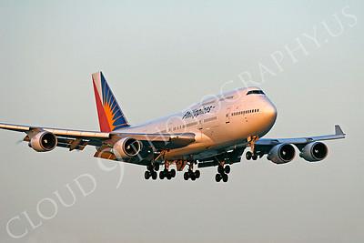 B747 00142 Boeing 747 Philippines by Tim P Wagenknecht