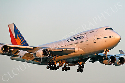 B747 00306 Boeing 747 Philippines by Tim P Wagenknecht