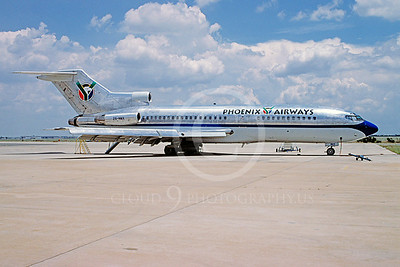 B727 00007 Boeing 727 Phoenix Airways ZS-NMX via African Aviation Slide Service