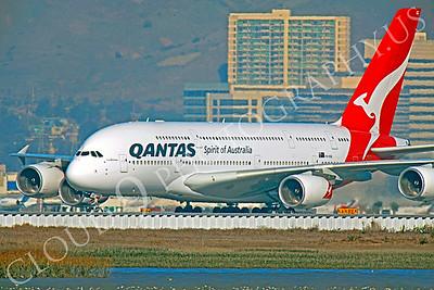A380 00011 Airbus A380 Qantas VH-OQC by Peter J Mancus