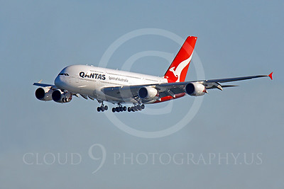 A380 00032 Airbus A380 Qantas by Peter J Mancus