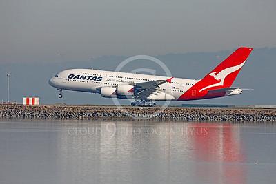 A380 00007 Airbus A380 Qantas VH-OQC by Peter J Mancus