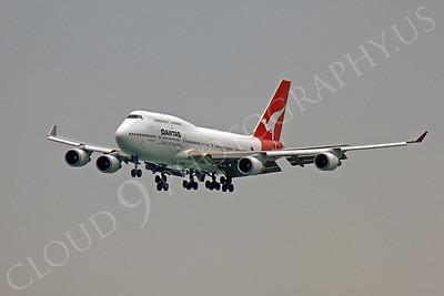 B747 00158 Boeing 747 Qantas VH-OEH by Peter J Mancus